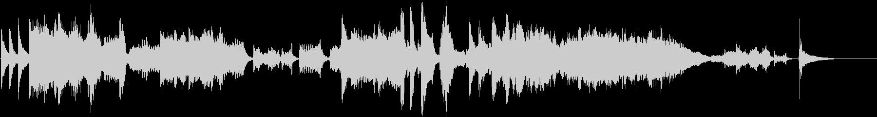 ツィゴイネルワイゼン/バイオリン生演奏の未再生の波形