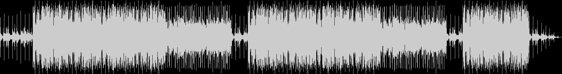 ローファイ、フルート、チルアウト、ピアノの未再生の波形