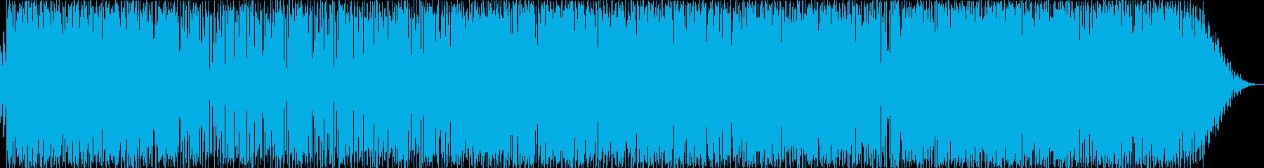 カーオーディオチューニング用音源の再生済みの波形
