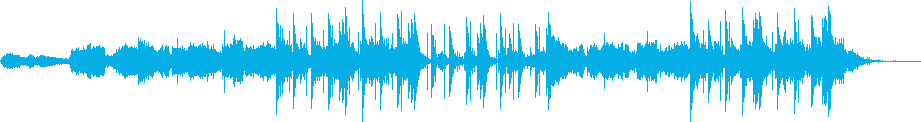 アンビエントシンセパッドと大気の文...の再生済みの波形