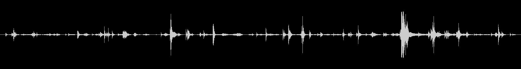 メタル プレートへこみ処理02の未再生の波形