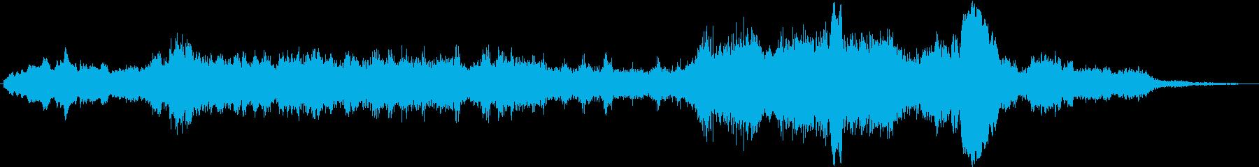 電気モーターの変調によるコンピュー...の再生済みの波形