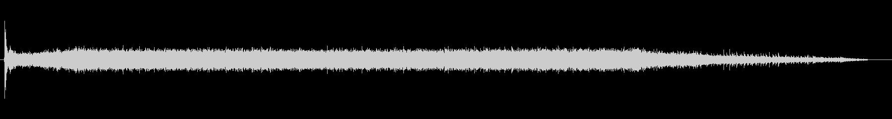 アングルグラインダー-オン、アイド...の未再生の波形