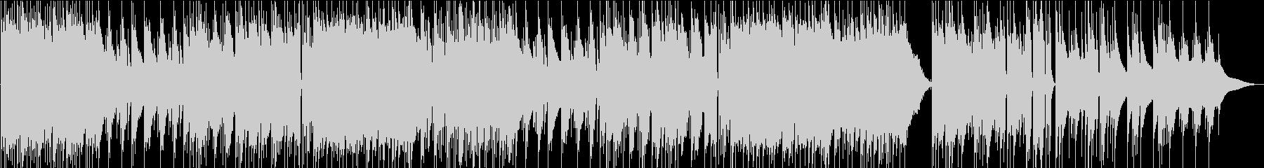 しっとり切ないエレピの美しいBGMの未再生の波形