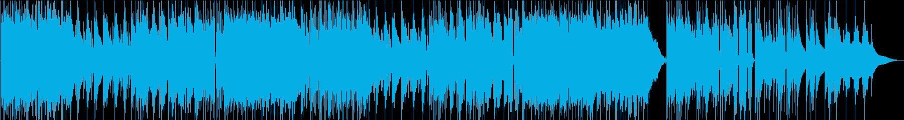しっとり切ないエレピの美しいBGMの再生済みの波形