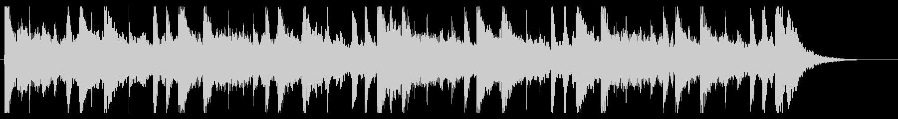 和を感じる切ないBGM_No604_4の未再生の波形