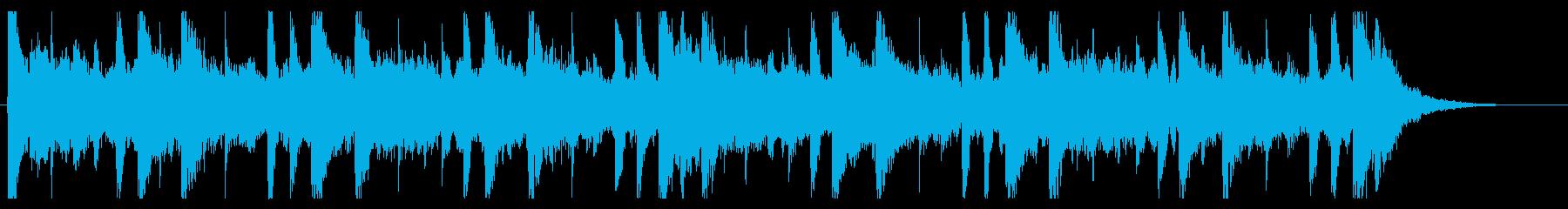 和を感じる切ないBGM_No604_4の再生済みの波形