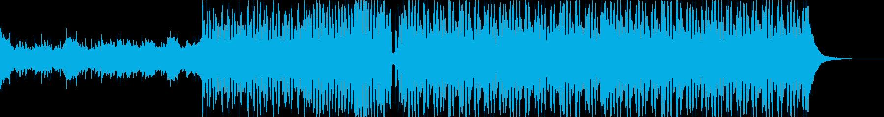 感動的・明るいFuture Bass bの再生済みの波形