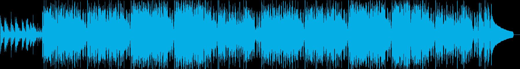 クールで緊張感のあるアシッドジャズの再生済みの波形