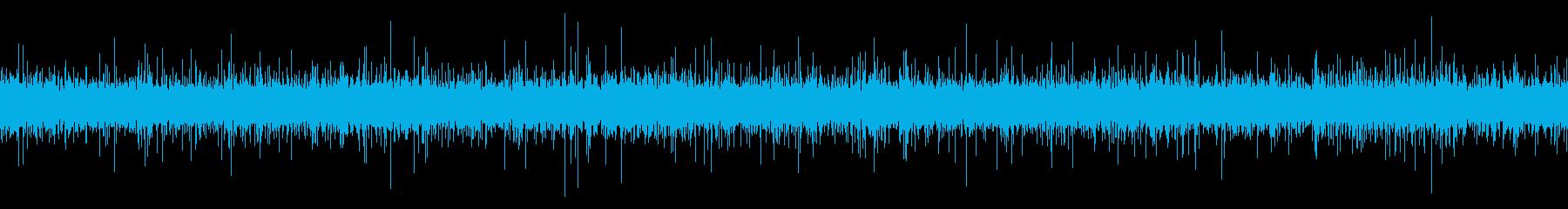 用水路の音【田舎、晩秋、夜】ループの再生済みの波形