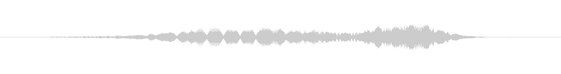 (おばけの驚いた声)の未再生の波形