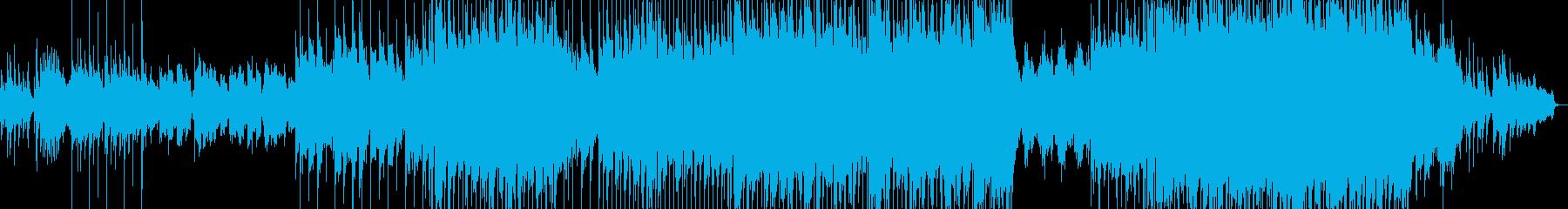 フォーク風の切ない雰囲気のバラードの再生済みの波形