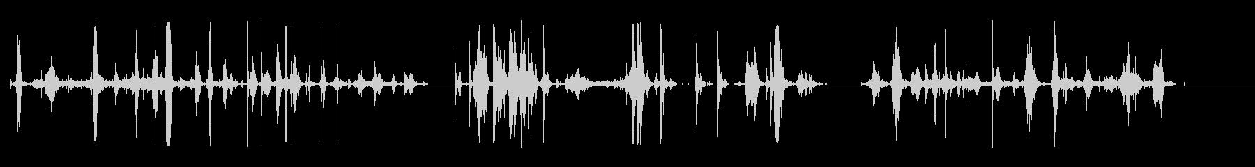 ファイト-3バージョンの未再生の波形