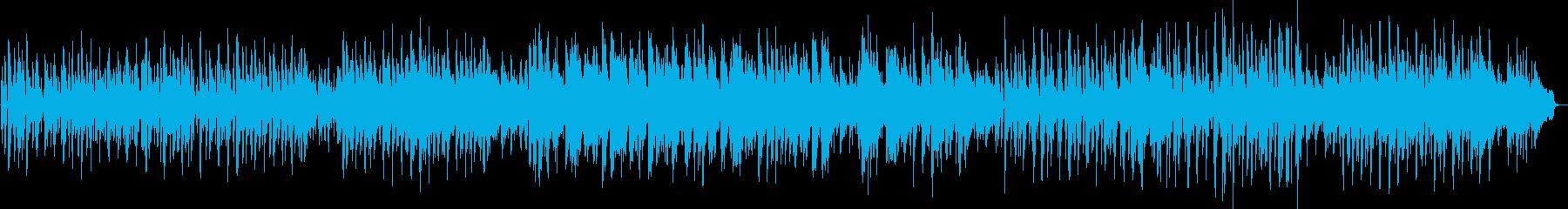 3/4拍子のポップスの再生済みの波形