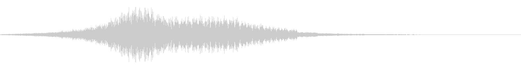 ショッキング(ホラー・ノイズ有り)12の未再生の波形