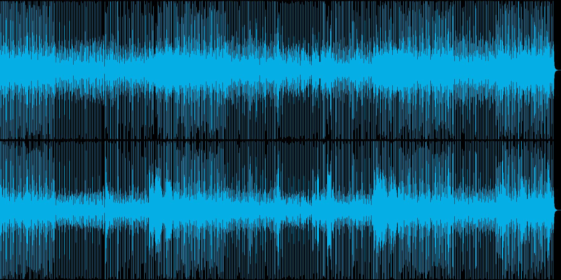 生録音ドラムフレーズその③の再生済みの波形