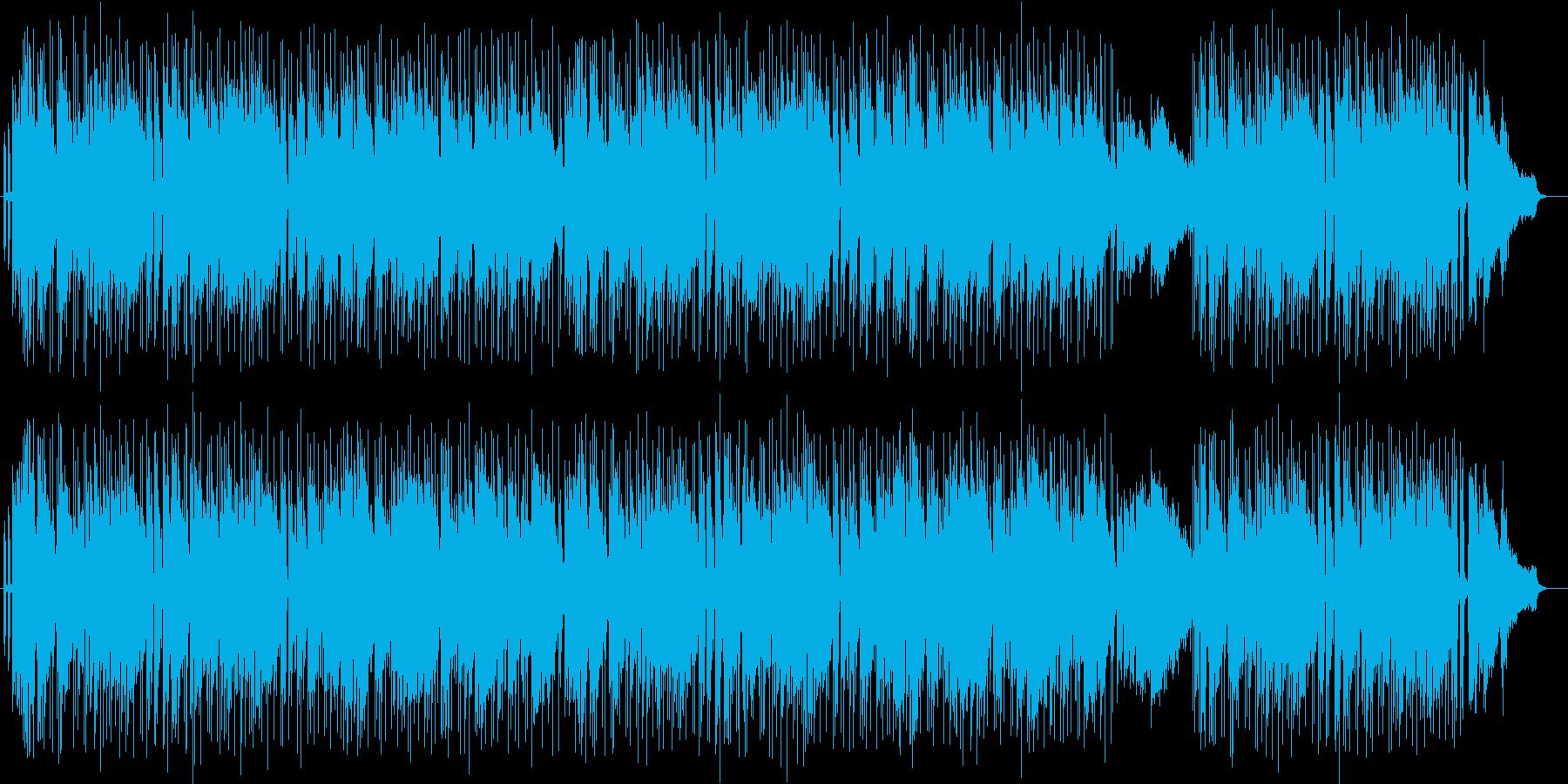 軽やかで晴れやかなシンセサイザーサウンドの再生済みの波形