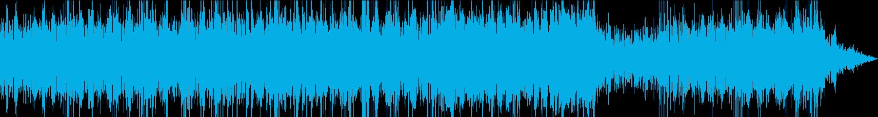 グルーヴ感を感じる曲です。の再生済みの波形