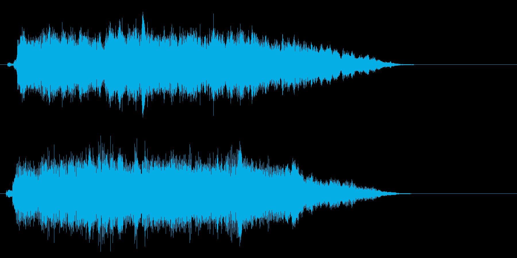 アイドルSE2 ゲームオーバーの再生済みの波形