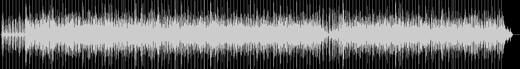 シンプルなレゲエポップ ロックステディの未再生の波形