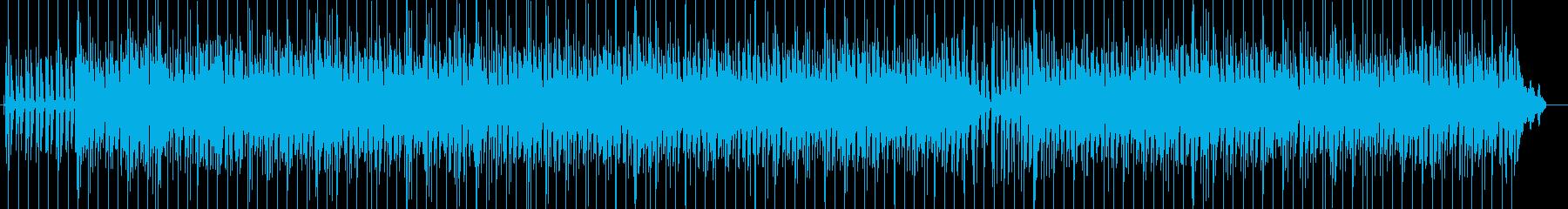 シンプルなレゲエポップ ロックステディの再生済みの波形