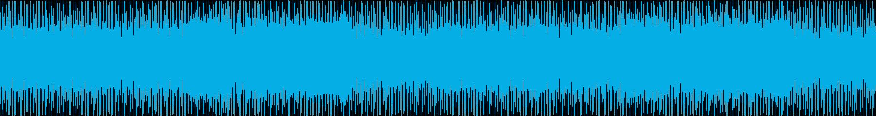 アラビア風インスト音楽。の再生済みの波形