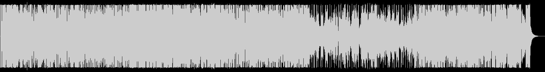 柔らかく弾むイージーリスニングの未再生の波形