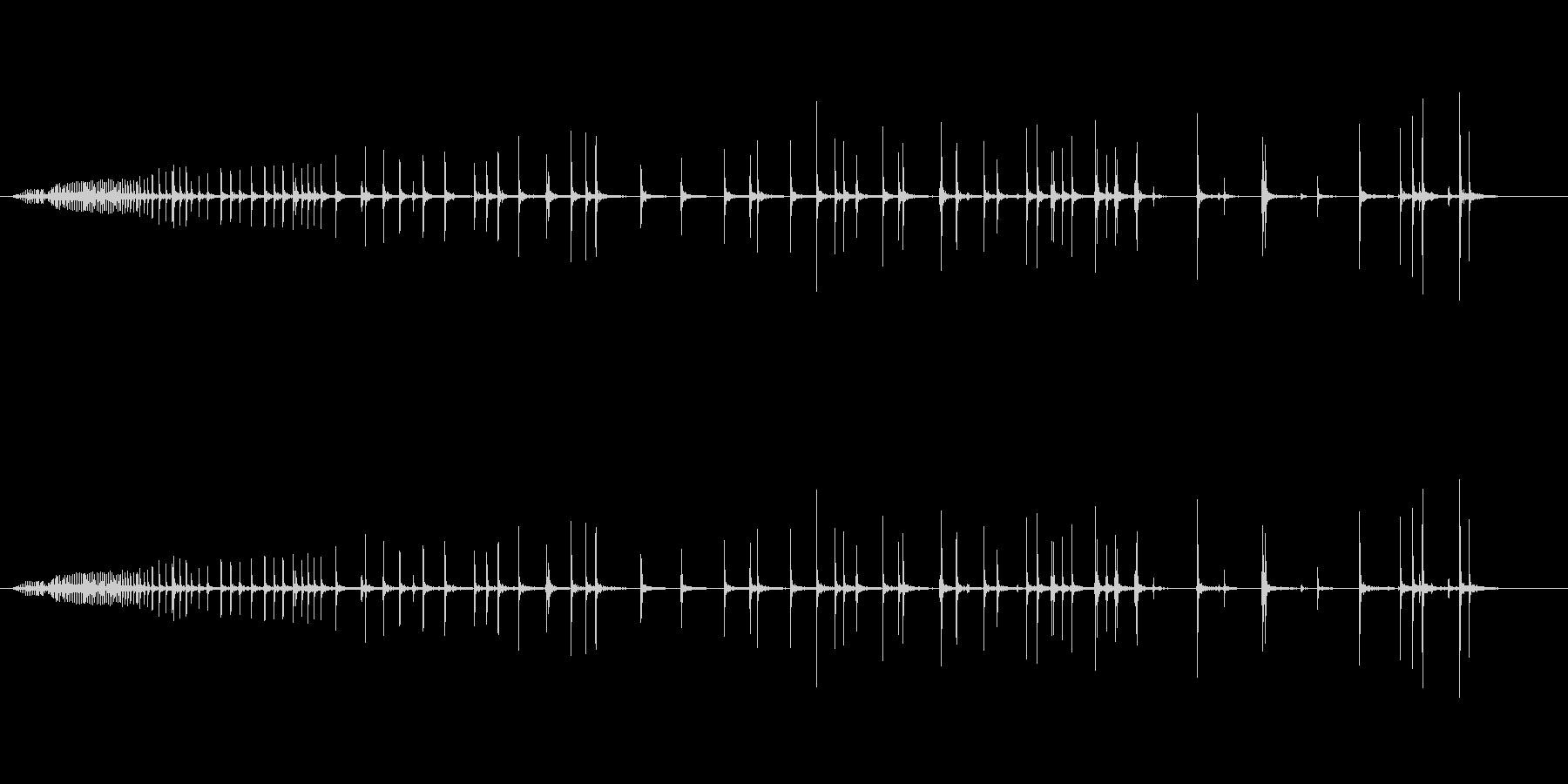 【生録音】軋む音 ギーー 2の未再生の波形