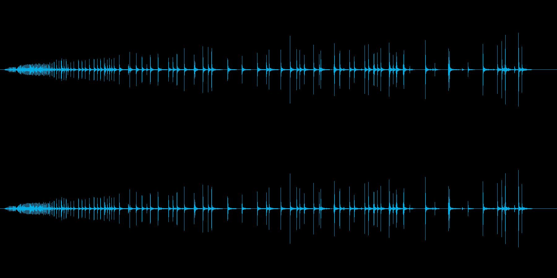 【生録音】軋む音 ギーー 2の再生済みの波形