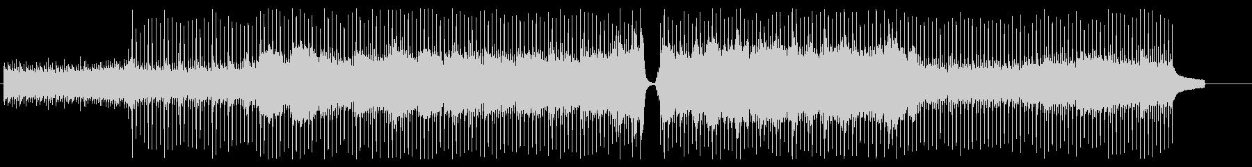 爽やかなピアノ・バイオリン・ポップの未再生の波形