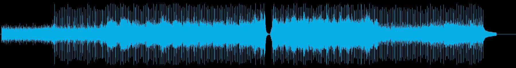 爽やかなピアノ・バイオリン・ポップの再生済みの波形