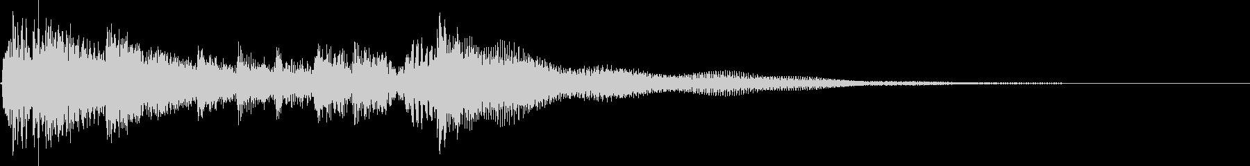 ラテンギターアクセントの未再生の波形
