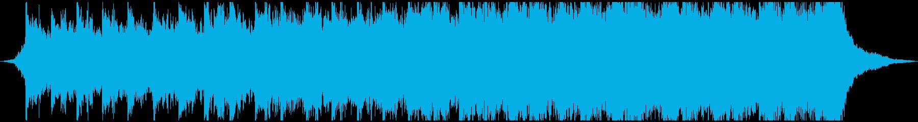 イントロトレーラーの再生済みの波形