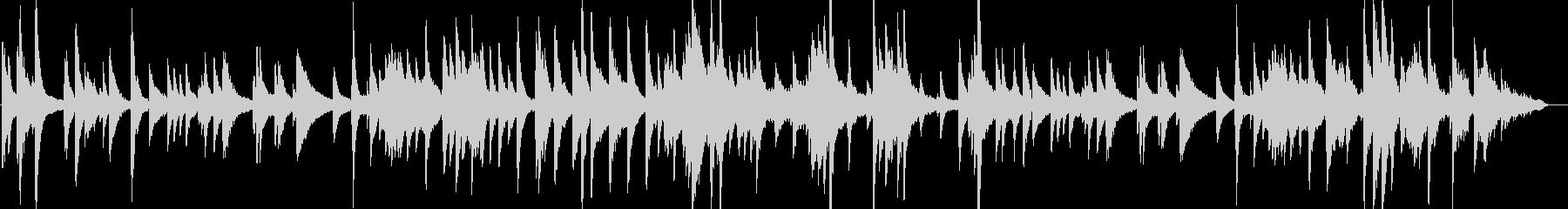 妖艶な響きのスロージャズピアノ楽曲の未再生の波形