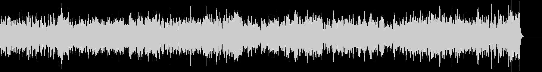 ピアノ2台の豪華な曲・3楽章(バッハ)の未再生の波形