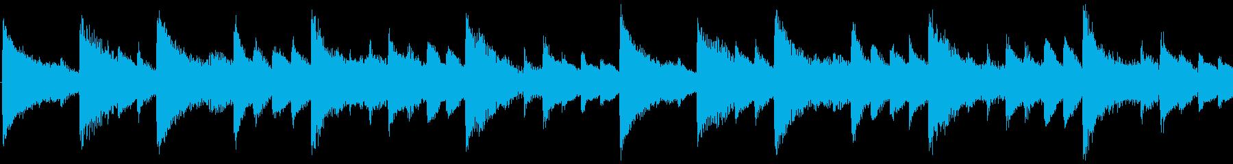 気分が上がるクリスマスBGM-ループ1の再生済みの波形
