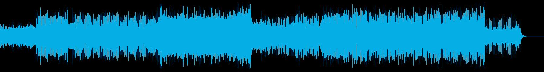 疾走感 EDM オープニング 企業VPの再生済みの波形