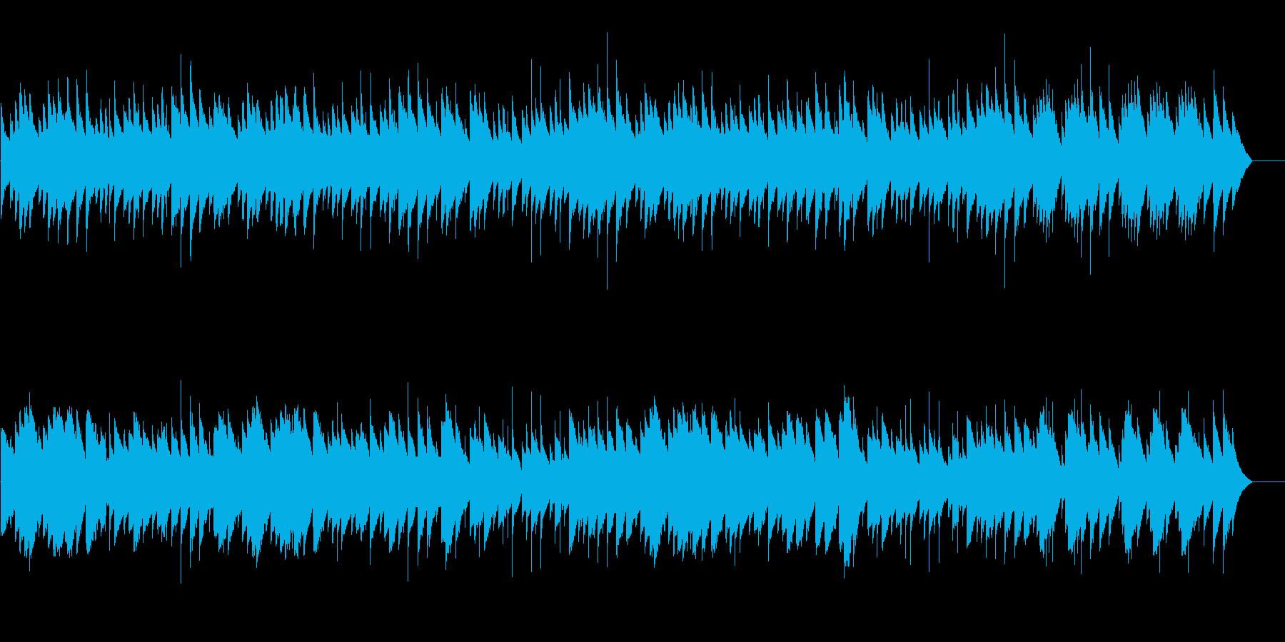 ブラームス ワルツ 第15番 オルゴールの再生済みの波形