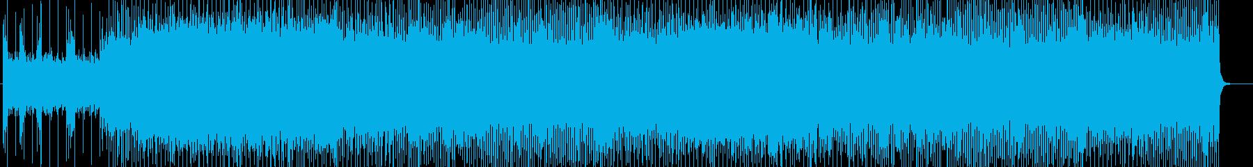 「HEAVY METAL」BGM134の再生済みの波形