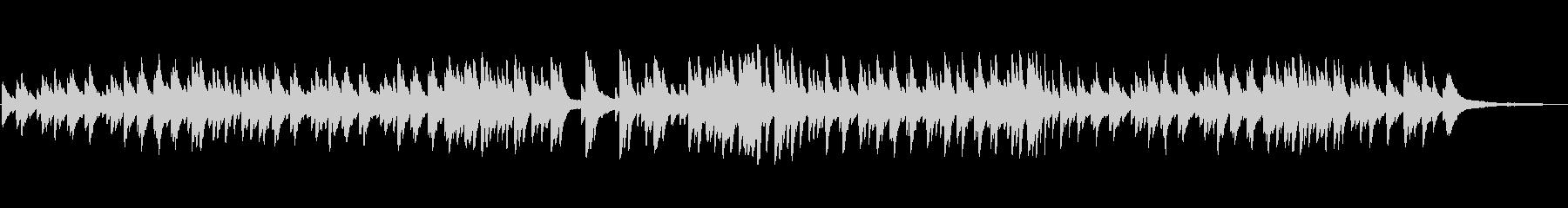ピアノソロでアラフォー応援ソングの未再生の波形