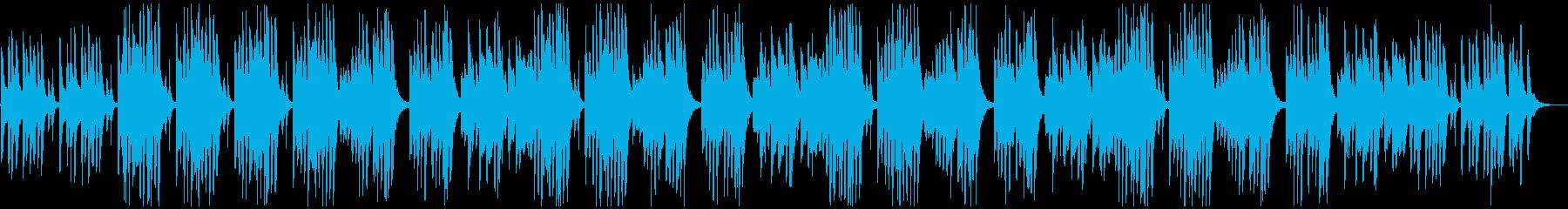 ほのぼのギャグ系・ドラマの日常ワンシーンの再生済みの波形
