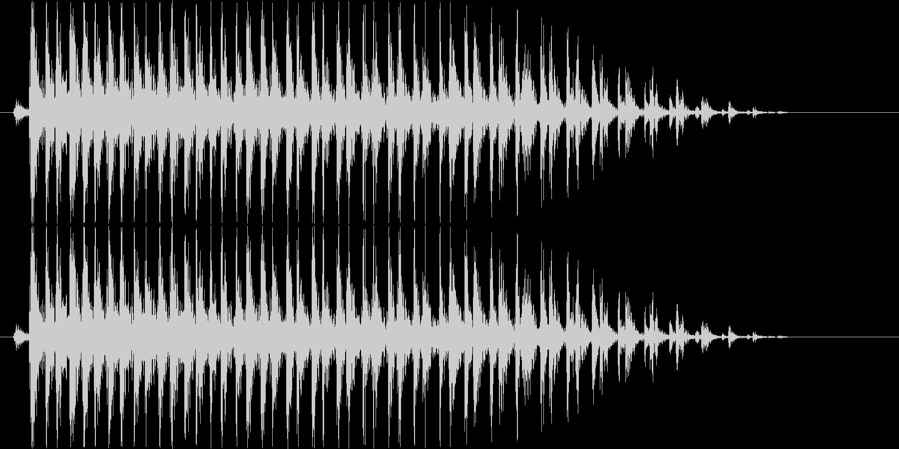 ビブラスラップ(軽め)の未再生の波形