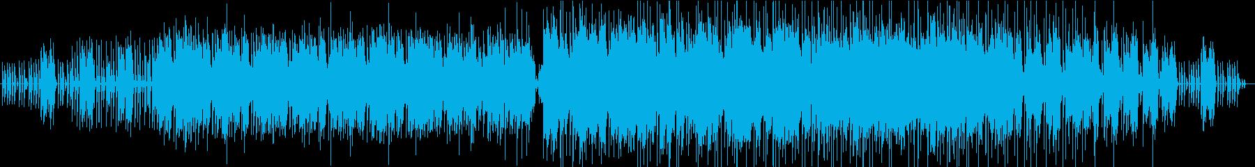ホラー系ミステリアス、エンディング曲の再生済みの波形