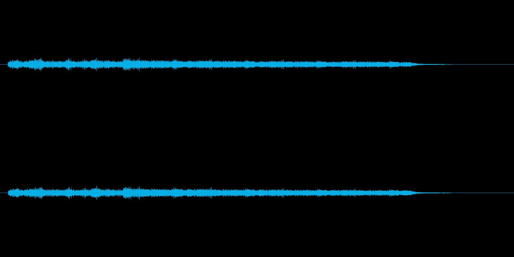 「ジャララララン (シンセ音)」の再生済みの波形
