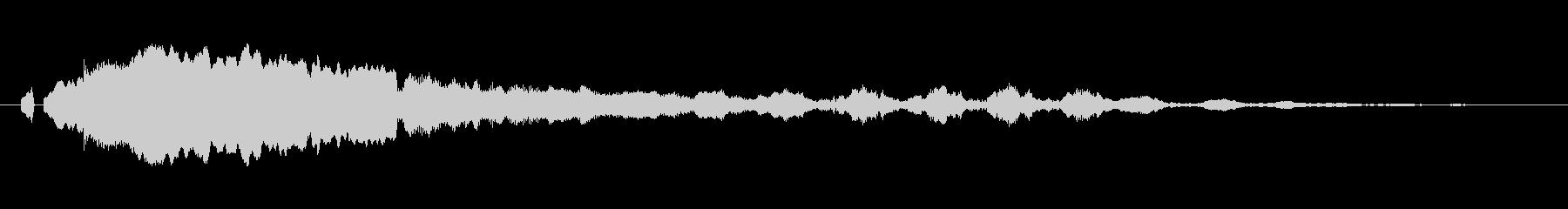 「ピーヒョロロ」鳶、とんびの鳴き声02!の未再生の波形