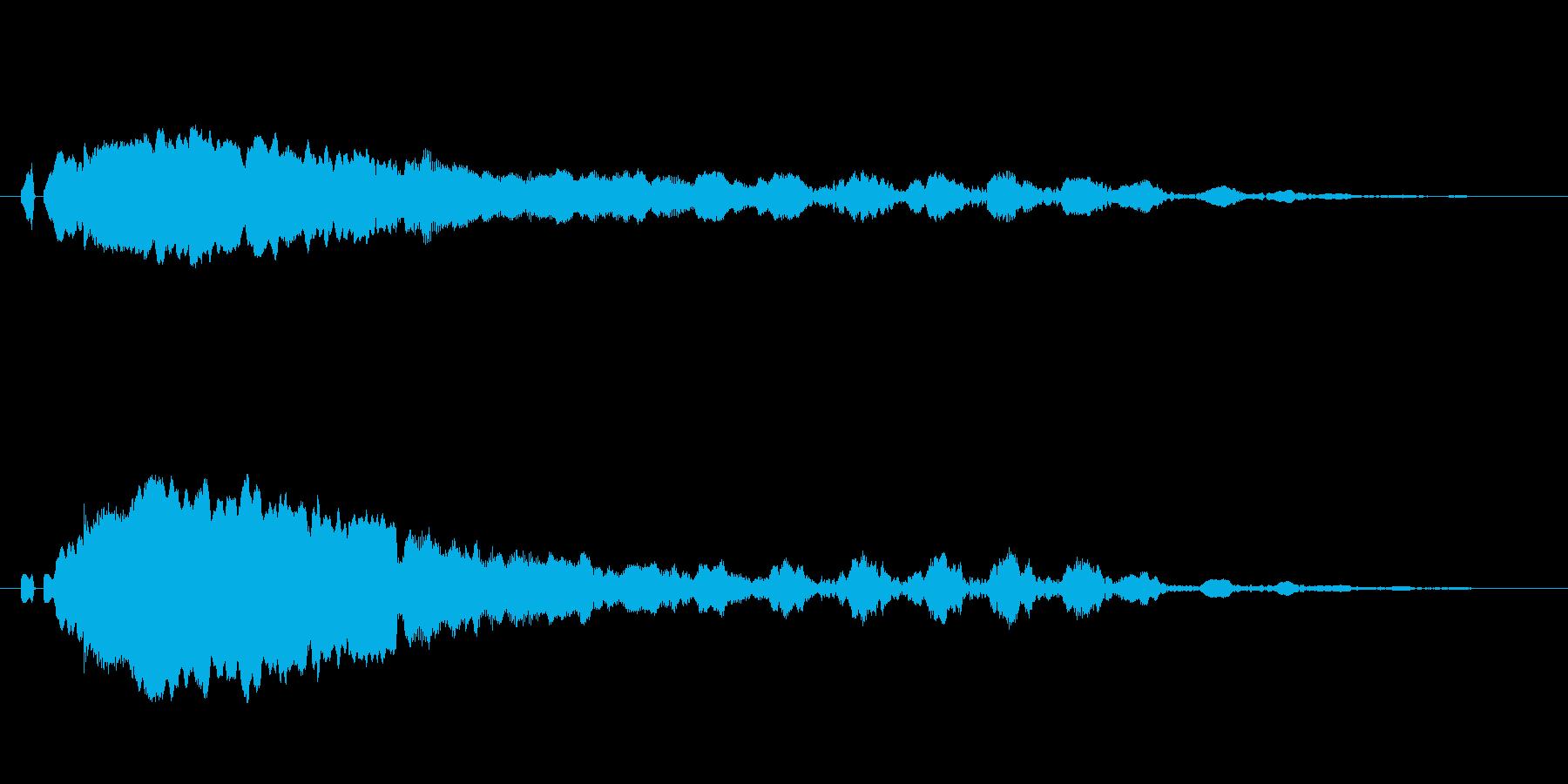 「ピーヒョロロ」鳶、とんびの鳴き声02!の再生済みの波形