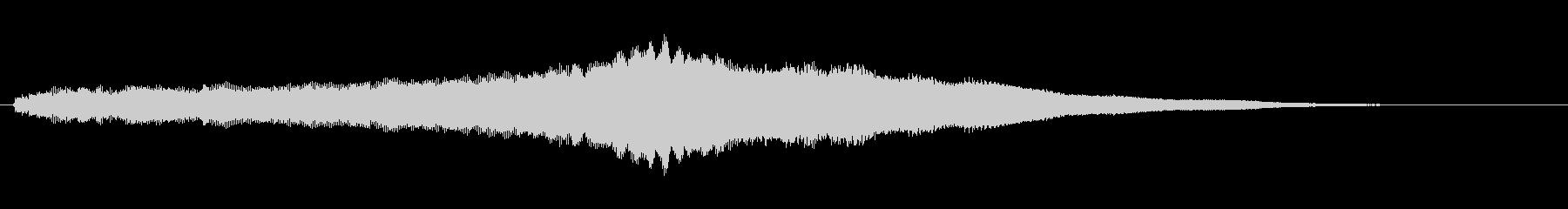 素材 オルガンスウェルメジャー02の未再生の波形
