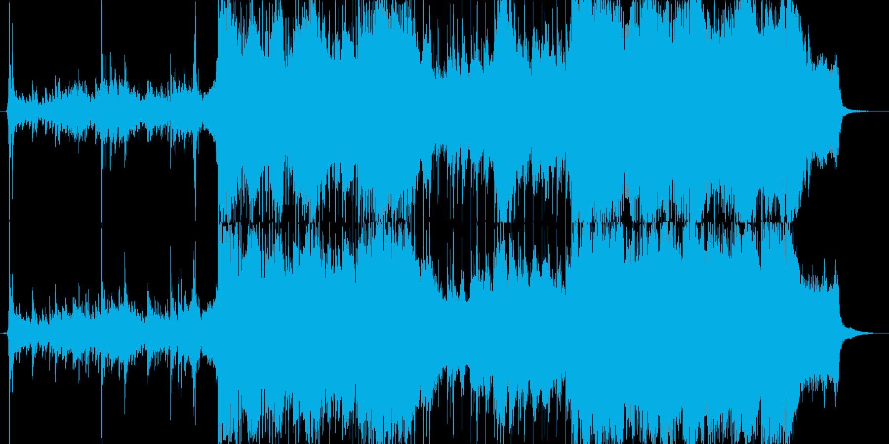 幻想的なSoundtrackの再生済みの波形