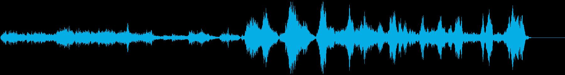 ゾンビ(グループ)攻撃1の再生済みの波形