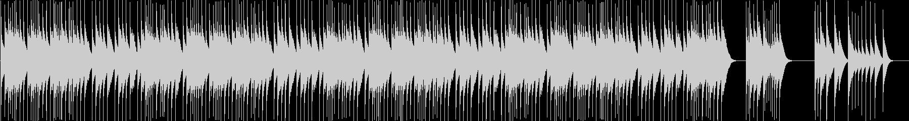 【オルゴール】クリスマス曲Wewish2の未再生の波形
